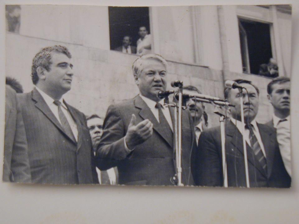 Eltsin-Nazarbaev-1991-September-21